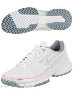 the best attitude e8649 21d0f adidas adiZero Feather White Women s Shoe Tennis Warehouse, Tennis Workout,  Only Shoes, White