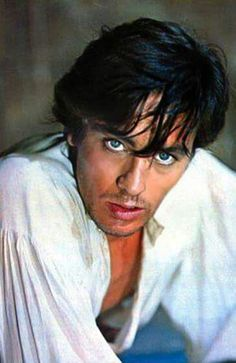 Alain Delon...The Black Tulip. The man is exquisitely beautiful, physically, and apparently morally bankrupt.