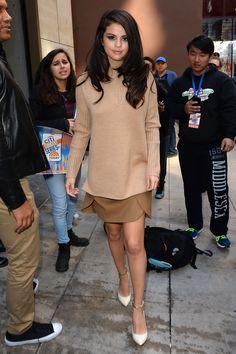 Selena Gomez in New York City on Oct. 12, 2015.   - Cosmopolitan.com