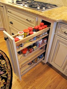 Pull out drawer ~ Raleigh Kitchen Photos Design Ideas