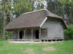 Lotyšské etnografické muzeum v přírodě (12) - Klēts — Vikipēdija