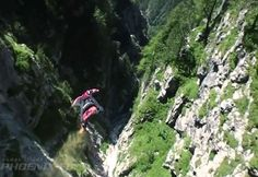 Wingsuit. The closest thing to flying, really.
