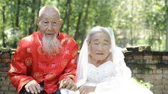 Pasangan Unik - Akhirnya Kakek dan Nenek Ini Bisa Lakukan Foto Wedding Setelah Menikah 80 Tahun