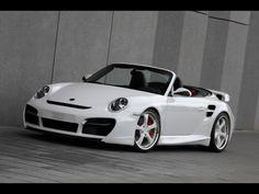 2010 TechArt Porsche 911 Turbo Aerodynamic Kit II - White Front ...