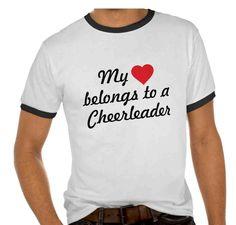 Cheerleading Tee Shirts