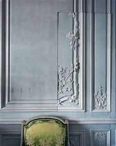 Boiserie Detail, Cabinet Interieur de Madame Victoire, Versailles