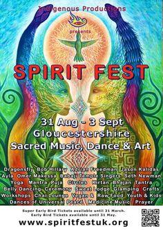 Sacred Music, Dance and Art for four days in nature. #spiritfestuk