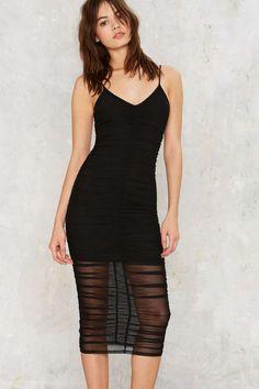 Matchstick Mesh Dress | Shop Clothes at Nasty Gal!