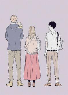 Suwa, Naho, Kakeru, Orange.