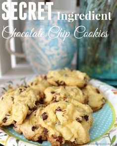 Want to make the cookies everyone LOVES? These Secret Ingredient Chocolate Chip Cookies are the BEST tasting treats and so simple to make. You won't believe the special ingredient that makes these cookies so delicious!