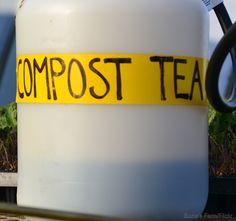 Compost Tea: Quench Your Garden's Thirst - Urban Farm Compost Tea, Organic Compost, Growing Vegetables, Growing Plants, Soil Improvement, Liquid Fertilizer, Cannabis Plant, Garden Care, Urban Farming