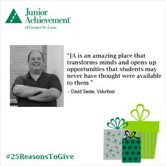 Reason Number 6 to Give: #Help #JASTL show #students their #potential.  http://FundJA.org/  #25ReasonsToGive #FundJA