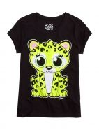 Glitter Cheetah, my style only Cool Tees, Cute Shirts, Justice Clothing, Kids Clothing, Girl Outfits, Cute Outfits, Shop Justice, Animal Graphic, Tween Fashion