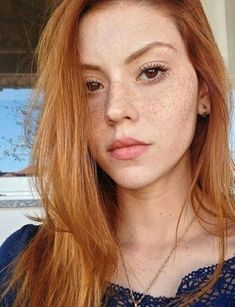 Read Ruivas from the story Fotos De Personagens Roupas Etc. Red Eyebrows, How To Color Eyebrows, Beautiful Freckles, Stunning Redhead, Beautiful Gorgeous, Red Hair Model, Redhead Quotes, Ginger Models, Freckles Girl