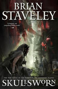 CoverReveal Skullsworn By Brian Staveley