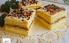 Citromkrémes kocka recept fotóval Hungarian Recipes, Vanilla Cake, Tiramisu, Cheesecake, Food And Drink, Cupcakes, Easter, Cookies, Ethnic Recipes
