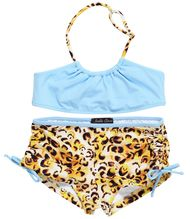 Cheetah with Shorts Bikini for Girls