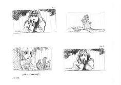 Living Lines Library: Tarzan - Storyboards, Storyboard Sketches Glen Keane