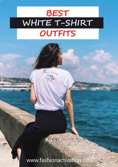 T-shirt outfits! I think, this is the most common thing that we wear at hot summer days!