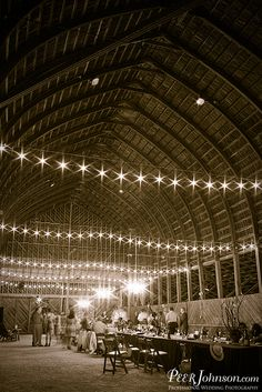 That is one stunning barn. Thacher Winery in Paso Robles