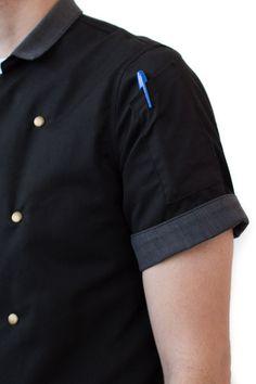 MR. PEPPER Chef Coat | Hedley & Bennett // Handmade Chef Gear