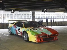 BMW Andy Warhol Art