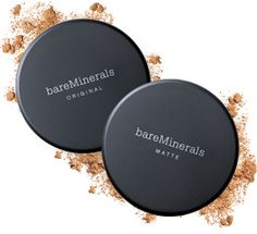 BareMinerals.  This is the best makeup ever made.  It's so light, covers imperfections, and protects my skin.  And it's so easy to use.  And it's okay if you forget to wash your face before bed.  This is healthy makeup, good for your skin.  If you haven't tried it, don't be fooled by the other cosmetic company knock-offs.  Bare Minerals is the original, the best.