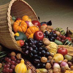 Thanksgiving: Cornucopia 12 x 12 Paper