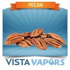 Pecans are the nuts that please. Wide subtle flavor for you nut lovers. #ecig #ejuice #eliquid #ecigs #ejuices #eliquids ..... Order today! ----> http://vistavapors.iljmp.com/1/ejuices