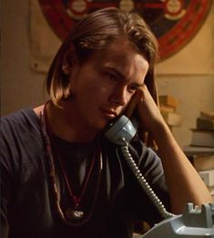 1990, River Phoenix, i love you to death. devo nod