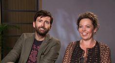 VIDEO: David Tennant & Olivia Colman Discuss Working On Broadchurch