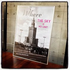Where the sky is no limit :)  50x70cm.   @Wars Sawa Design