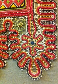 Russian bobbin lace from the town of Mikhaylov
