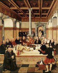 Cranach d. J., Lucas : Cranach d.J., Das Abendmah...