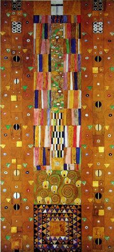 Klimt Geometric Design Art Nouveau Pattern 4 x 6 Photo Frame Gustav Klimt, Klimt Art, Art Nouveau, Art Grunge, Quilt Modernen, Vienna Secession, Dark Autumn, Art Moderne, Great Artists