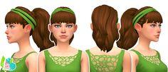 SimLaughLove : <3 Dancer Hairstyles + Headband (Hat) Accessory.