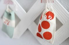 DIY Lattice Advent Calendar from The Proper Pinwheel (Ashley Swapp Photography)