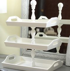 Shabby Sweet Cottage: How to make Stacked Trays