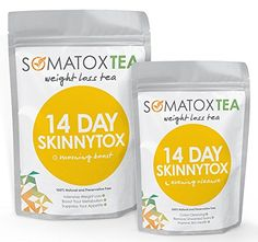 SOMATOX Weight Loss Tea - 14 Day Skinnytox | Contains Garcinia Cambogia   FREE BONUS eBOOK - Premium Weight Management Teatox - Lose Belly Fat (Green Tea • Diet Tea • Slimming Tea • Burn Fat) *** Discover this special product, click the image : Garcinia cambogia
