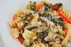 Spring Vegetable Pasta | Sincerely Nourished