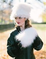 CALDECOTT FUR MUFF & HAT (POLAR PRINCESS WHITE) HALF OFF AND OH SO DOCTOR ZHIVAGO