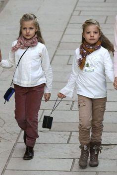 Leonor de Borbón y Ortiz et Sofía de Borbón y Ortiz