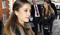 She touched down in London on Tuesday and Ariana Grande has wasted no time getting out and about.