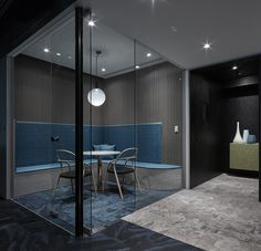 Office interior of internet media company cnYES located in Taipei, Taiwan.