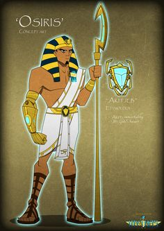 Mythos concept art - Osiris by ~Quinn-G on deviantART