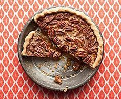 Alton Brown's Bourbon Pecan Pie