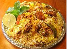 Бирья́ни или бирияни - второе блюдо из риса (обычно сорта басмати) и специй с добавлением мяса, рыбы, яиц или овощей. Специи и соусы, необходимые для приготовления бирьяни, могут включать в себя: топлёное масло, кумин, гвоздику, кардамон, корицу, лавровый лист, кориандр, шафран, мятные травы, имбирь, лук, чеснок.  В различных вариациях блюдо распространено по всей Южной Азии, а также в арабских странах и среди юго-азиатских сообществ на Западе.