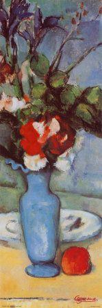 Blue Vase Posters af Paul Cézanne
