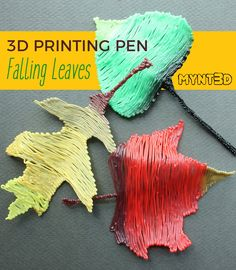 Fall Leaves Pen Template and Tutorial 3d Drawing Pen, 3d Drawings, Drawing Tips, Drawing Ideas, Autumn Leaves Craft, Fall Leaves, 3d Pen Stencils, Leaf Projects, Art Projects