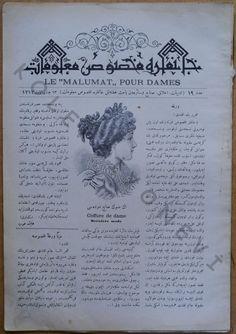 1 Kasım 1895. Le Malumat pour Dames.